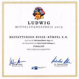 Auszeichnung Ludwig 2019
