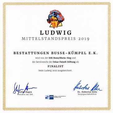 Finalist Mittelstandspreis 2019